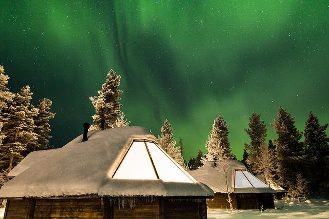 Aurora Cabin exterior