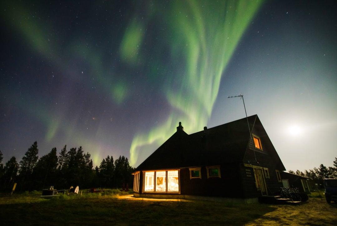 Restaurant at the aurora resort Aurora Village in Ivalo Lapland