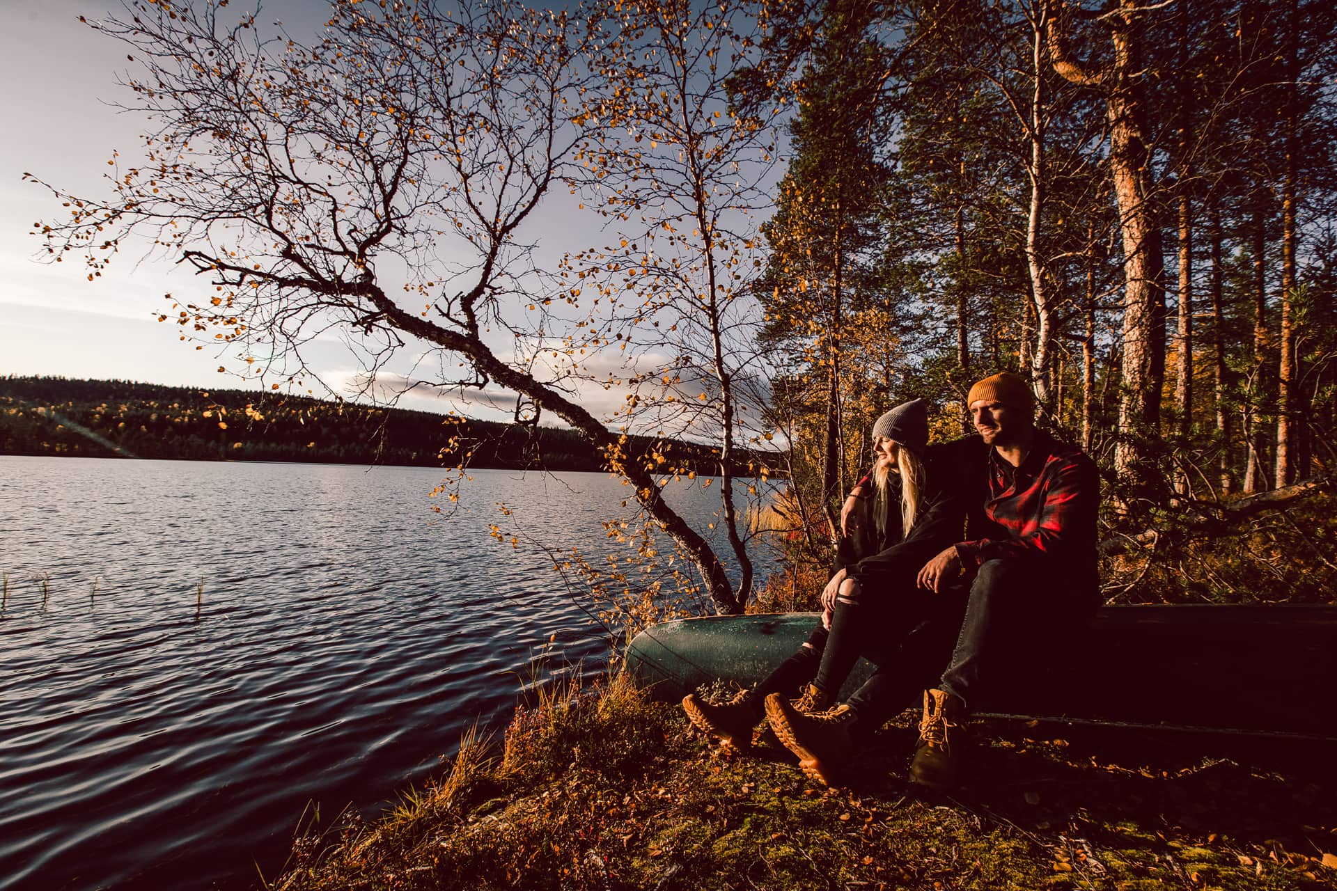 Amazing autumn vacation trip to Aurora Village Ivalo Lapland Finland.