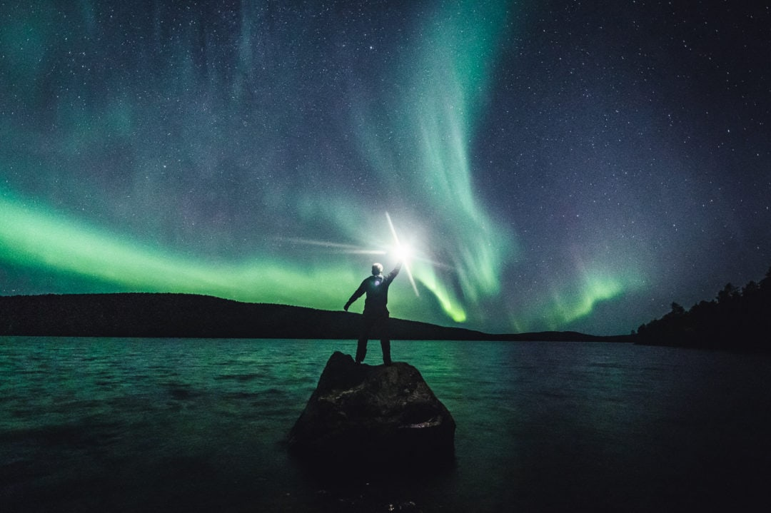 Amazing Northern Lights tour with Aurora Village Ivalo Lapland Finland.