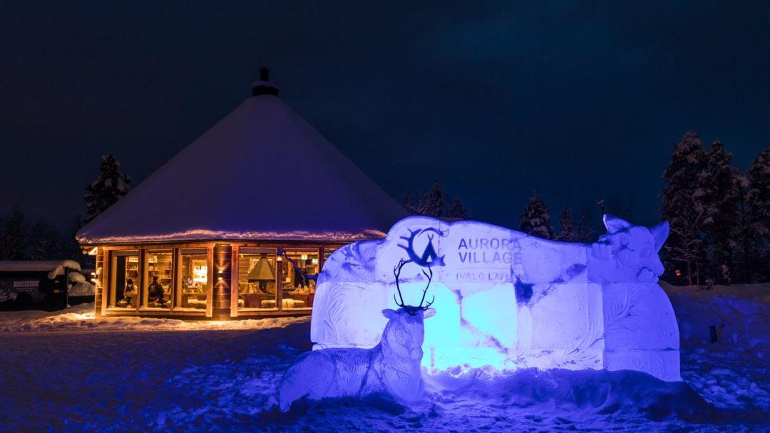 Aurora Village Winter 2019 Ivalo Lapland Finland
